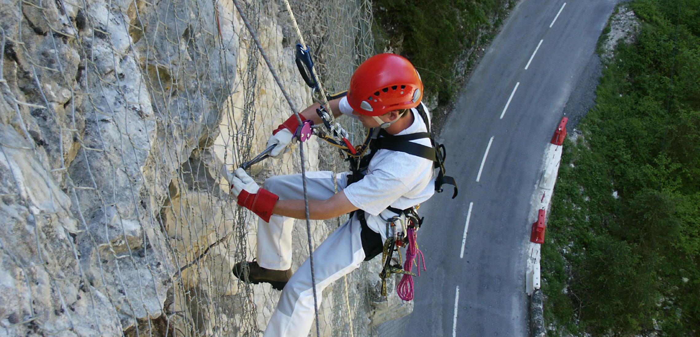 technicien cordiste, prévention des risques naturels