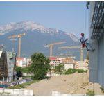 travaux d'accès difficiles et bâtiment