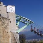 Vue du chantier téléphérique de Grenoble