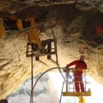 Confortement rocheux, tunnel (Miscon)