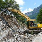 travaux d'accès difficiles à Choranche